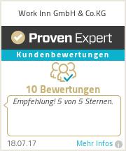 Erfahrungen & Bewertungen zu Work Inn GmbH & Co.KG